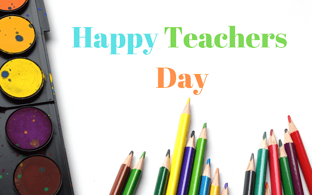 Happy Teachers Day - 5 September