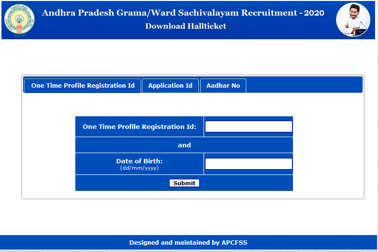 Andhra Pradesh state government has released the AP Grama/Ward Sachivalayam hall ticket 2020 online on its official website - gramasachivalayam.ap.gov.in