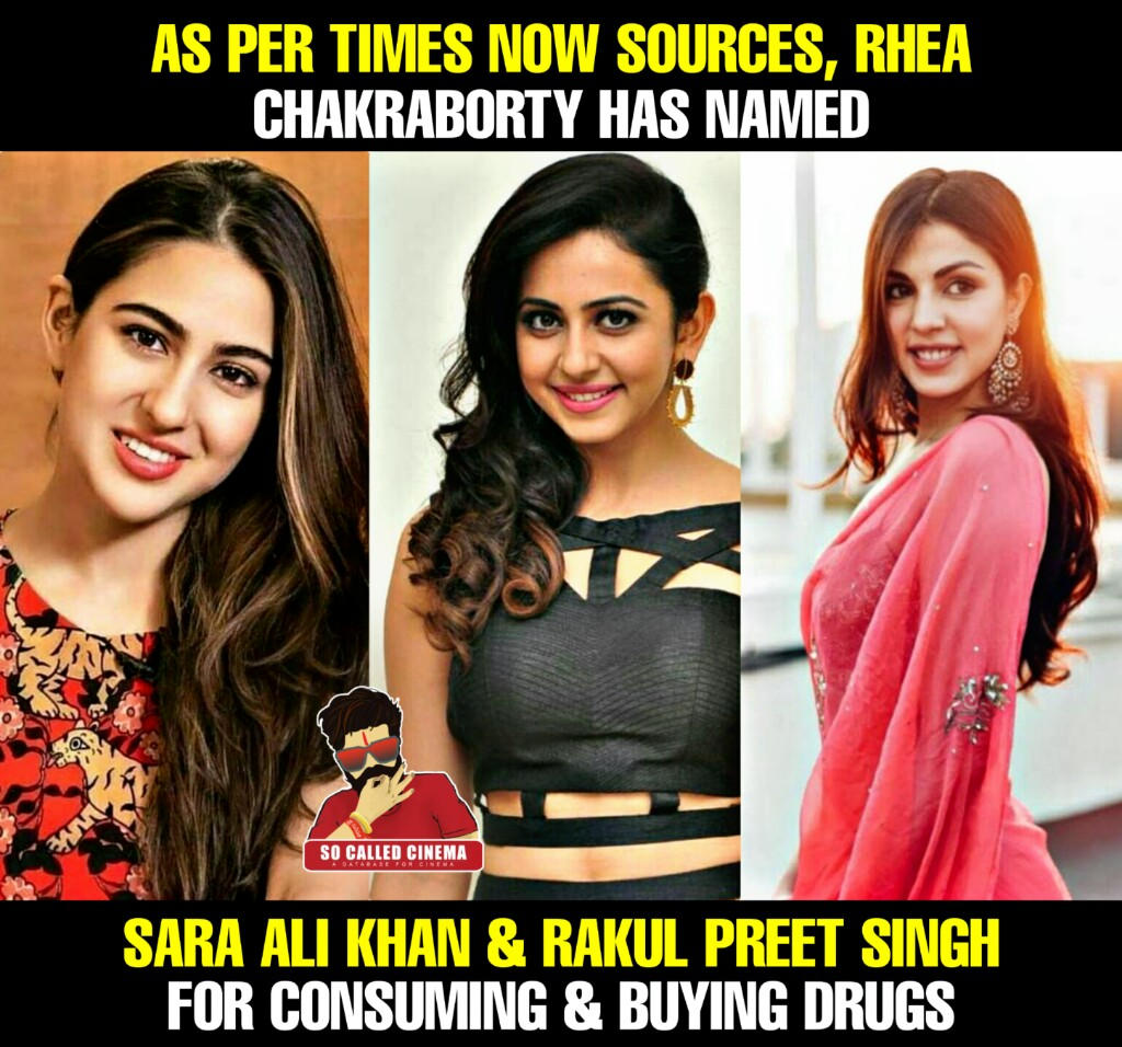 #RheaChakraborty names Bollywood celebrities #SaraAliKhan, #RakulPreetSingh, #MukeshChhabra and others in drug case  IMAGES, GIF, ANIMATED GIF, WALLPAPER, STICKER FOR WHATSAPP & FACEBOOK
