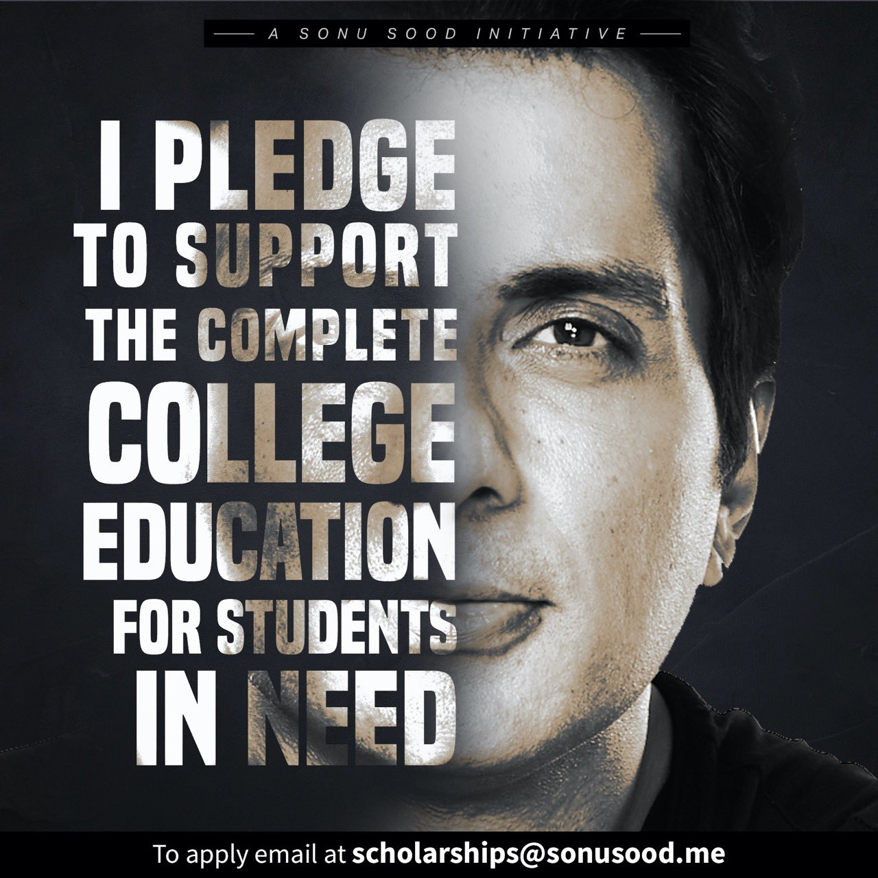 Actor Sonu Sood Announces Scholarships For Less-Privileged Students  IMAGES, GIF, ANIMATED GIF, WALLPAPER, STICKER FOR WHATSAPP & FACEBOOK