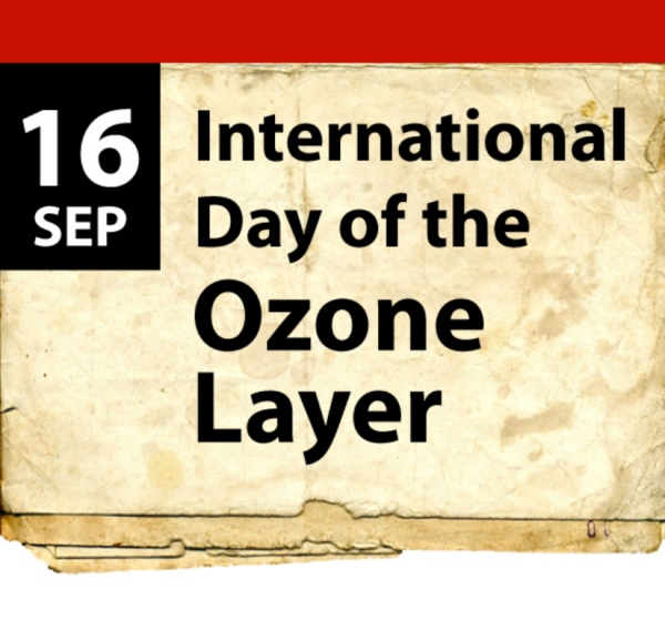 World Ozone Day - 16 September