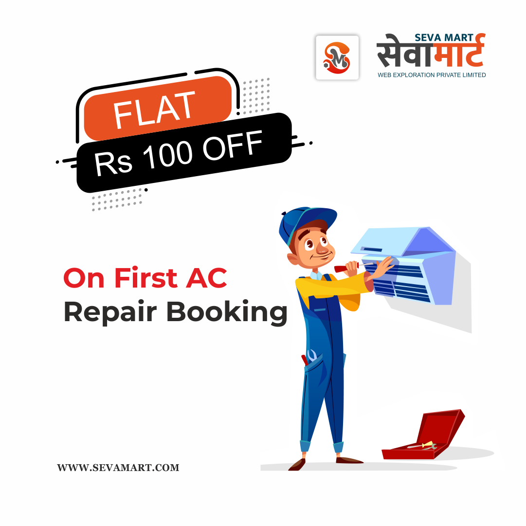 Rs. 100 off on Ac repairing service in patna