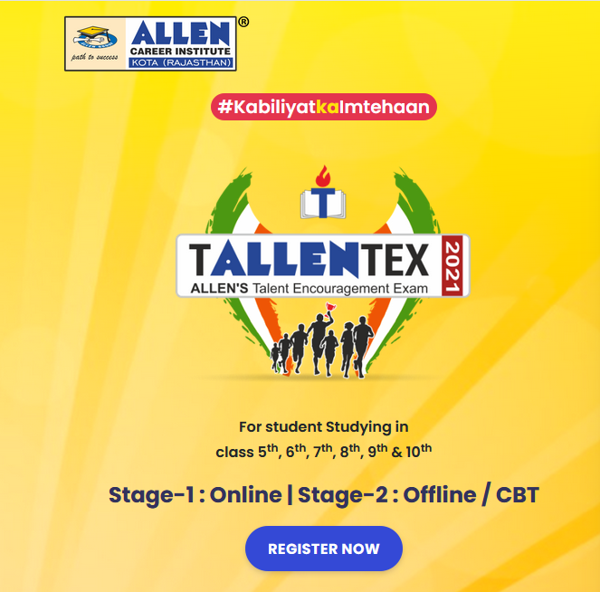 Educational talent search program, ALLEN academics young talent search program for students | TALLENTEX 2021