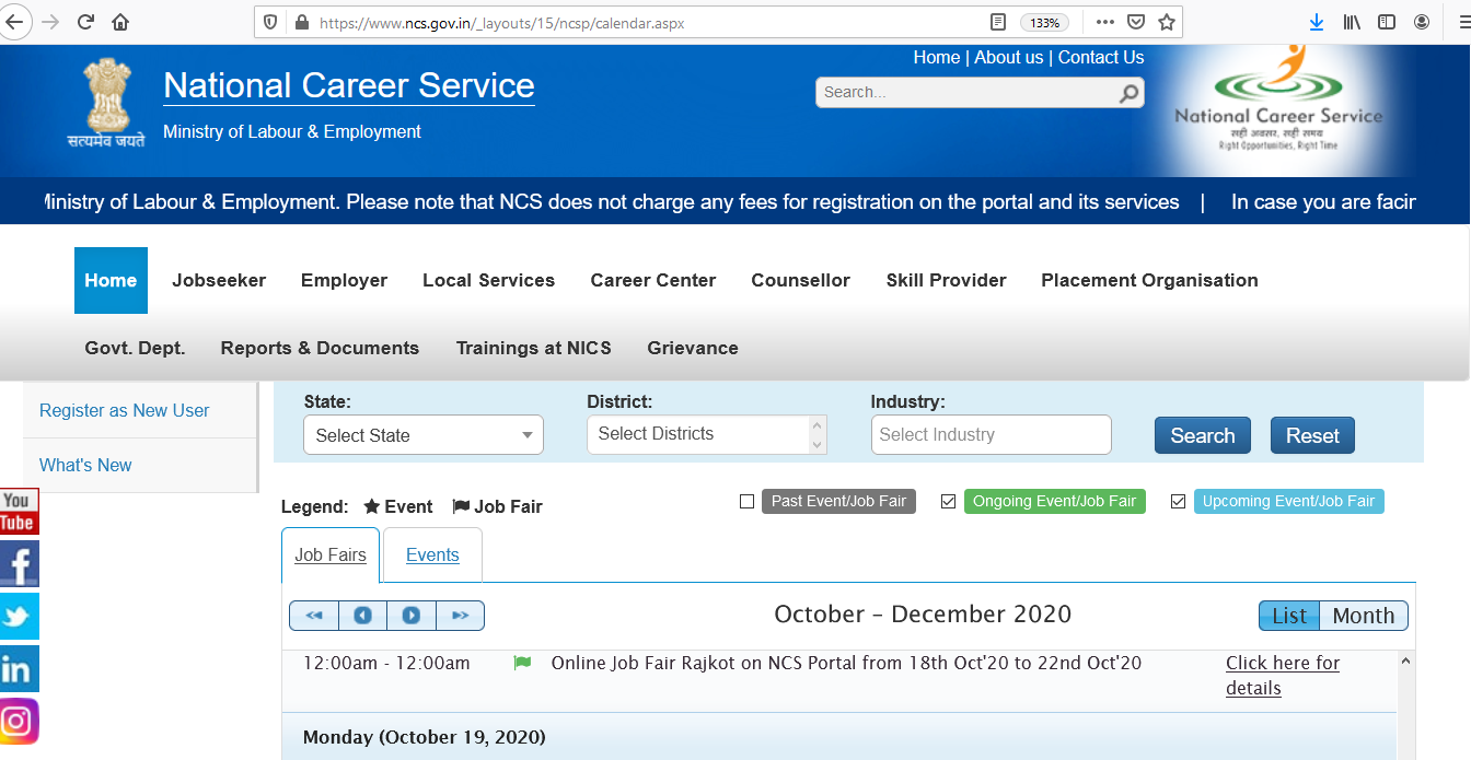 Jobs Fair By National Career Service