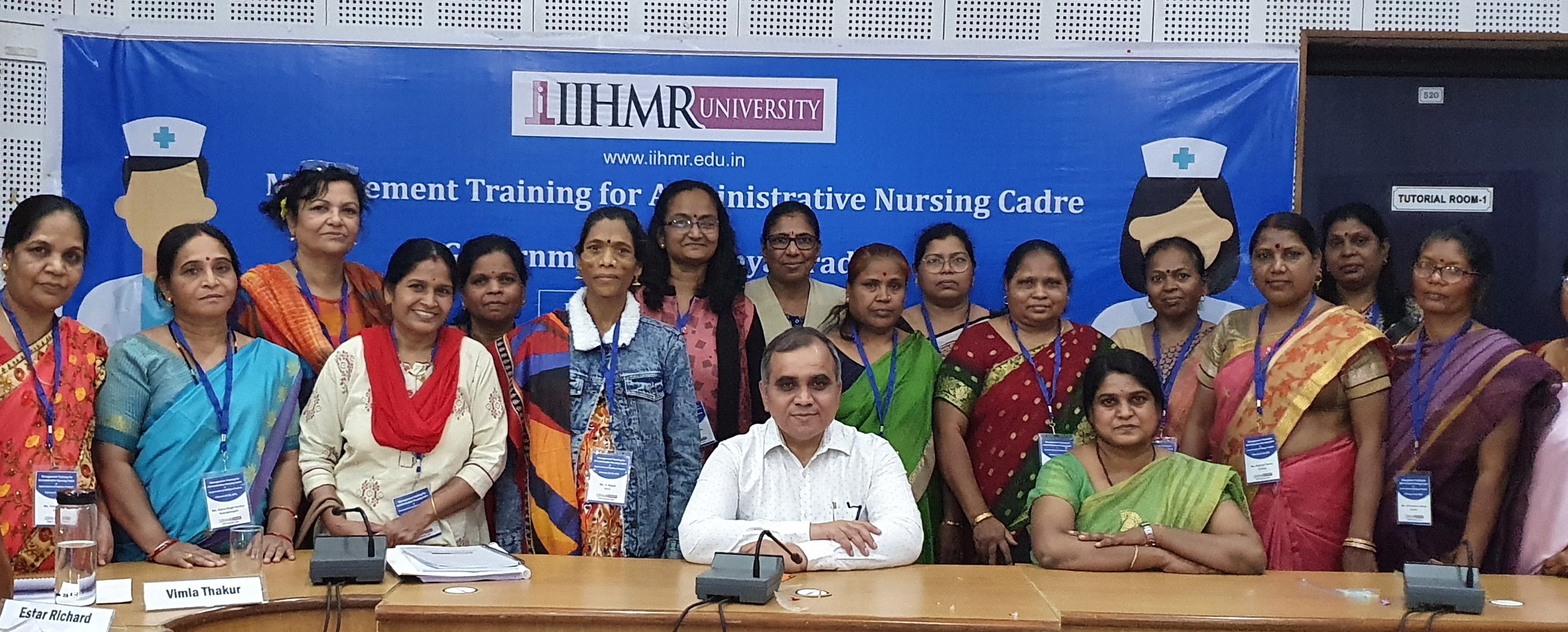 IIHMR University to train 100 Administrative Nursing Cadre for the Government of Madhya Pradesh