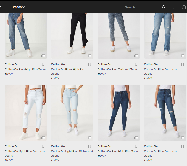 Shop Online for Women's Jeans at Tata CLiQ