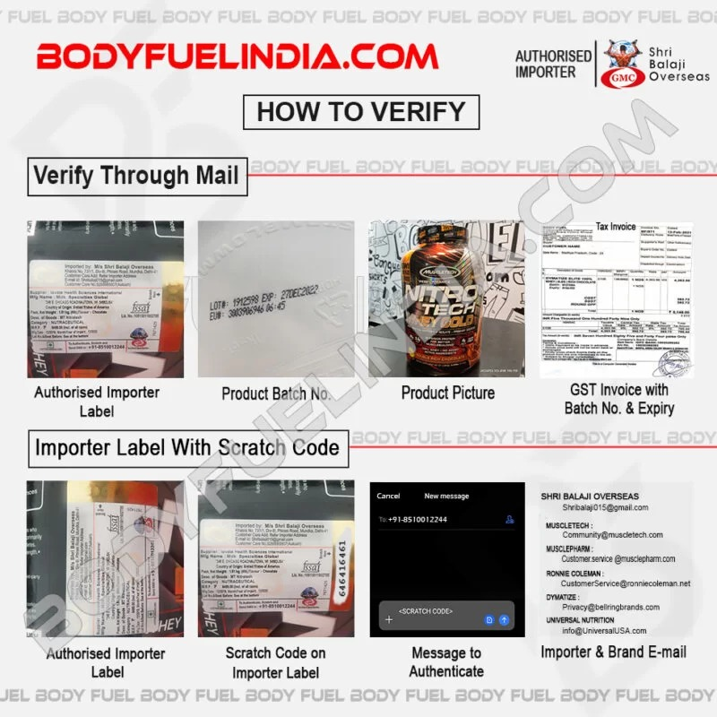 India's No 1 Brand Authorized online supplement store