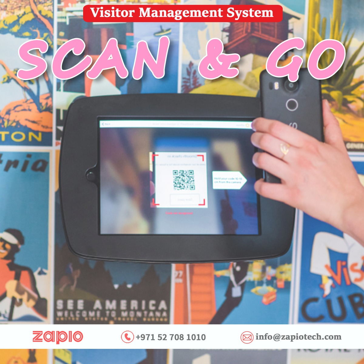 Secure Your Office/Organization With Contactless Visitor Check-in System