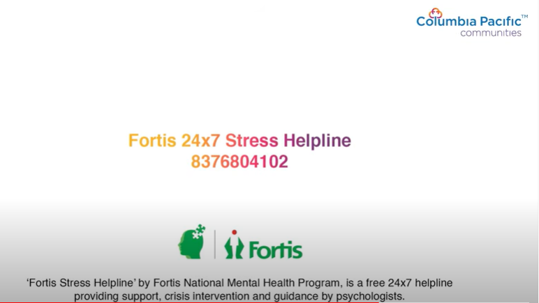 Columbia Pacific Communities (CPC) and Fortis Healthcare launch #ReachOut, a mental health initiative supporting India's elderly amid the second COVID wave