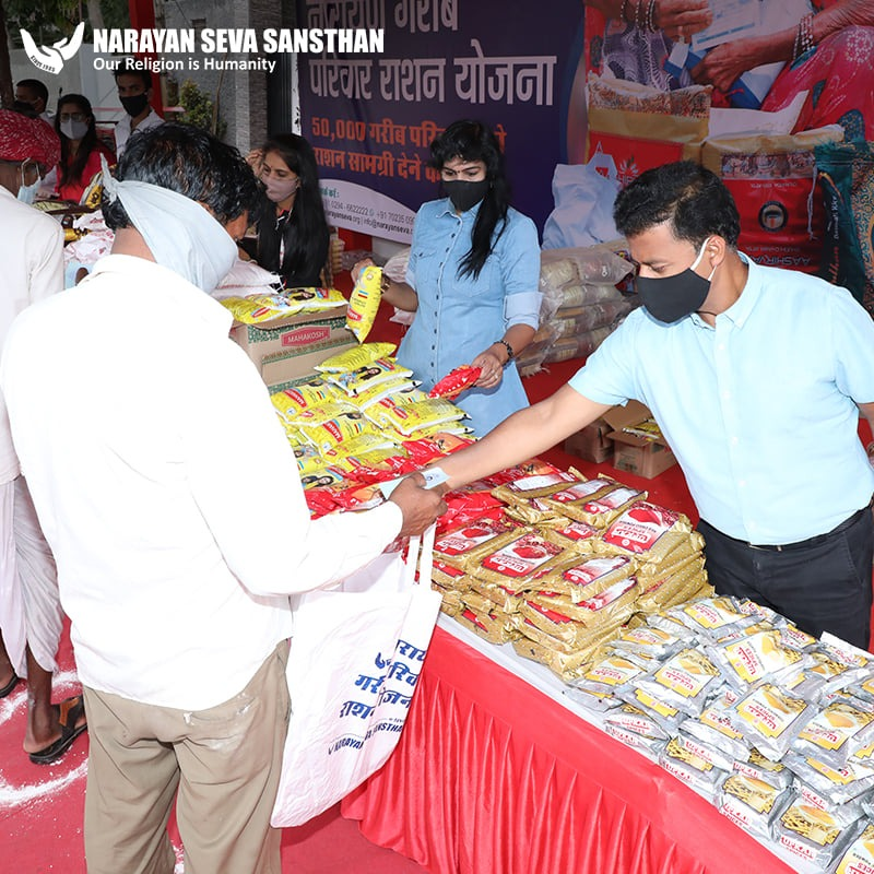 Free monthly ration to 31 thousand blind, disabled and needy families