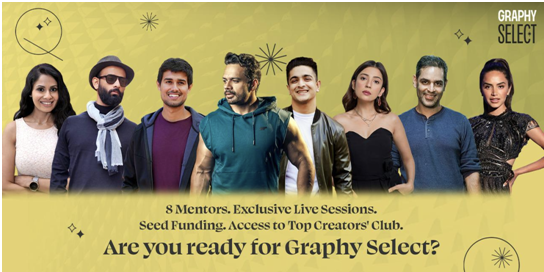 Graphy launches creator accelerator program 'Graphy Select'