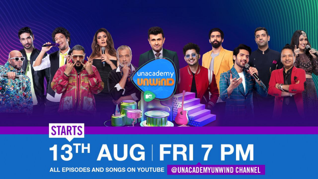 Unacademy and MTV Launch Youth-Focused Music Show 'Unacademy Unwind'