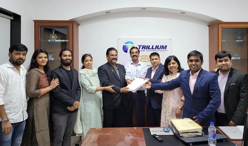IMC SWARNAA acquires Trillium Flow Technologies in order to diversify its portfolio and expand its market presence.