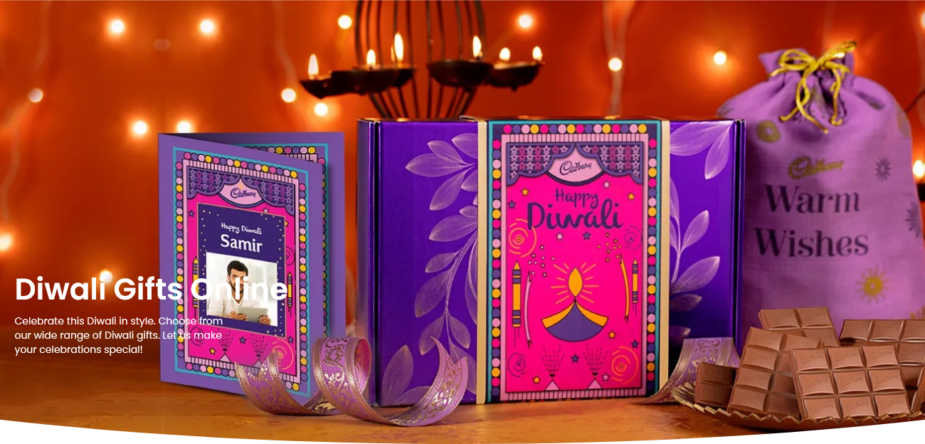 Diwali Chocolate Gifts Collection from the House of Cadbury:
